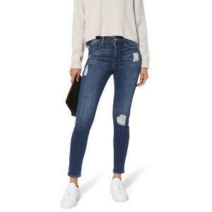 FRAME Le Skinny De Jeanne Jeans in Hilltop NWT